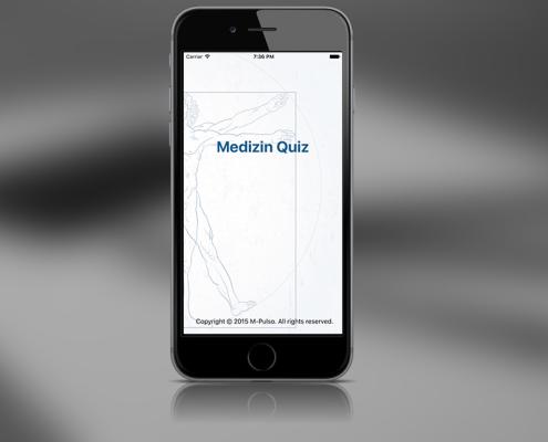 M-Pulso Medizin Quiz App