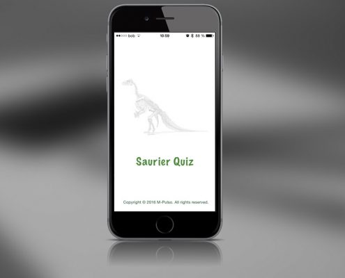 Saurier Dinosaurier Quiz M-Pulso