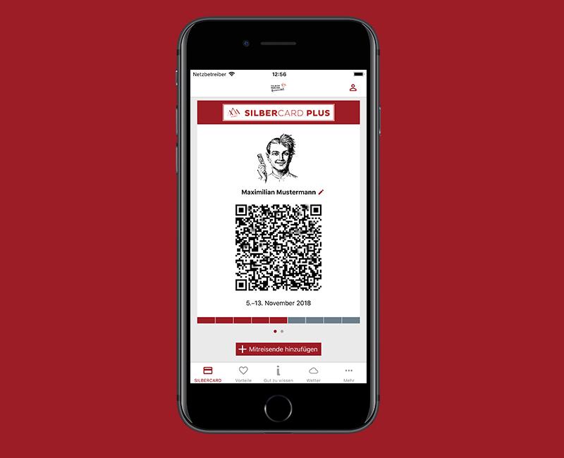 Silbercard Digitale Gästekarte